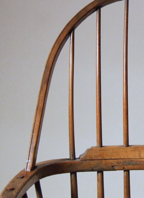 WE'VE JUST PUT A VERY UNUSUAL WINDSOR CHAIR ON THE WEBSITE