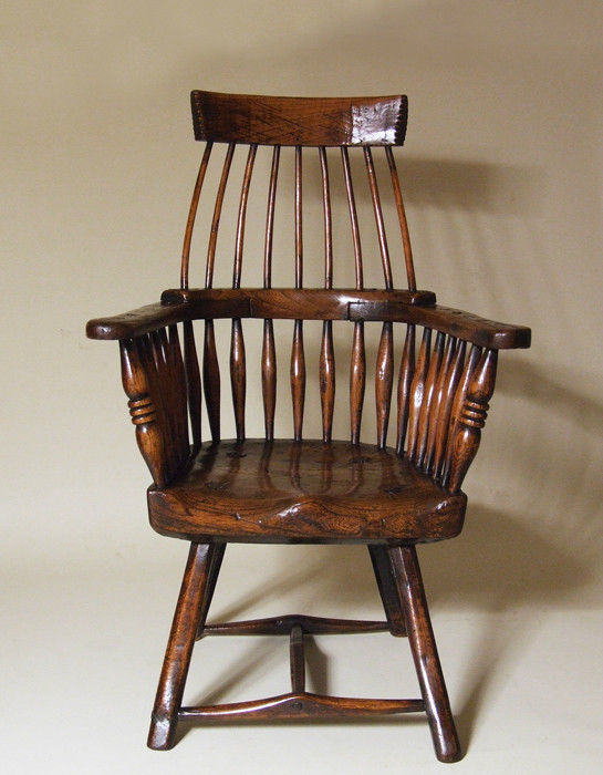 Imposing Welsh Windsor armchair