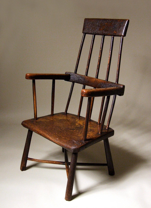 18th century Welsh Windsor armchair