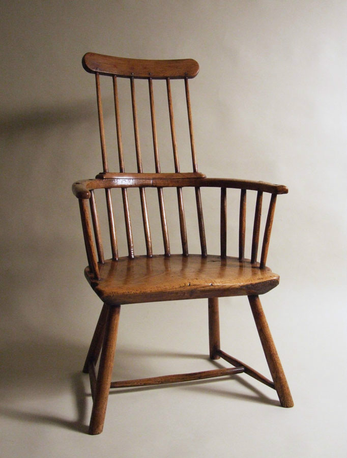 English comb-back Windsor chair