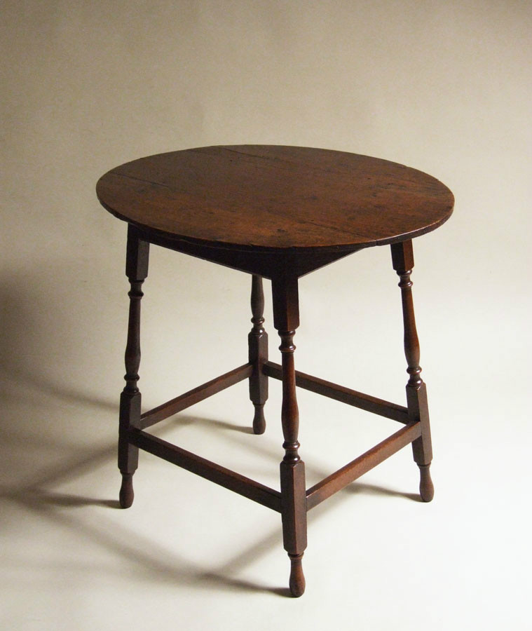 Elegant 18th century oak table