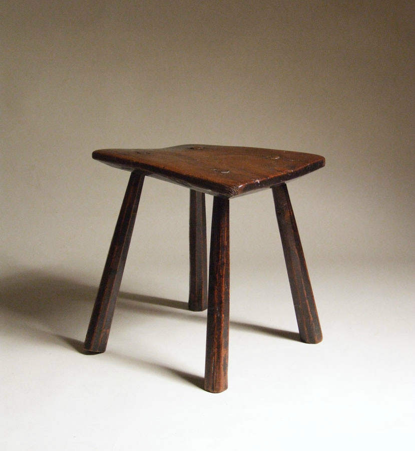 Quirky country stool