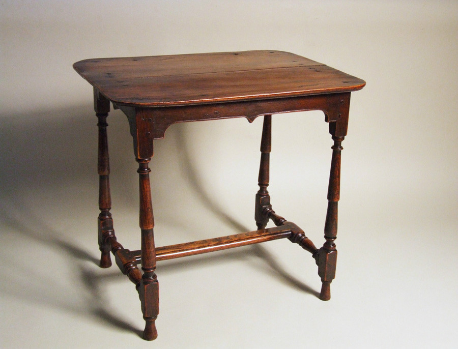 Unusual elm occasional table